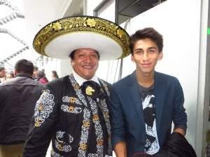 Mariachis en el Cercado de Lima